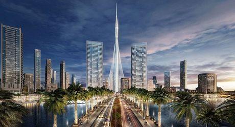 Dubai lai xay toa nha cao nhat the gioi - Anh 1