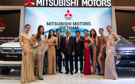 Mitsubishi gay an tuong voi khach tham du VMS 2016 - Anh 1