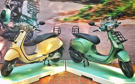 Vespa Sprint Adventure gia 80 trieu dong - Anh 1