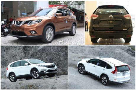 So sanh Nissan X-Trail va Honda CR-V: Crossover 5 cho nao dang dong tien? - Anh 3