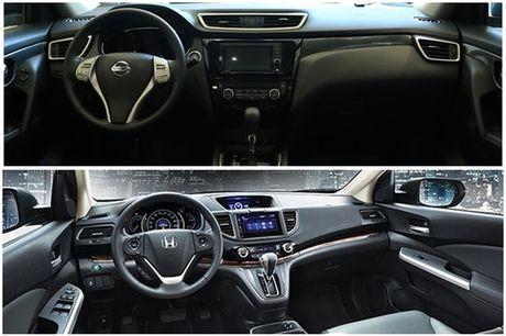 So sanh Nissan X-Trail va Honda CR-V: Crossover 5 cho nao dang dong tien? - Anh 4