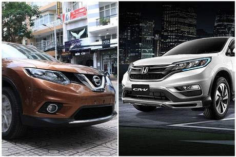 So sanh Nissan X-Trail va Honda CR-V: Crossover 5 cho nao dang dong tien? - Anh 7