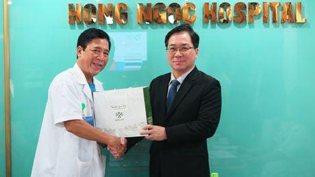 Toa dam trao doi kinh nghiem dieu tri vo sinh giua BV Hong Ngoc va Jetanin Thai Lan - Anh 1