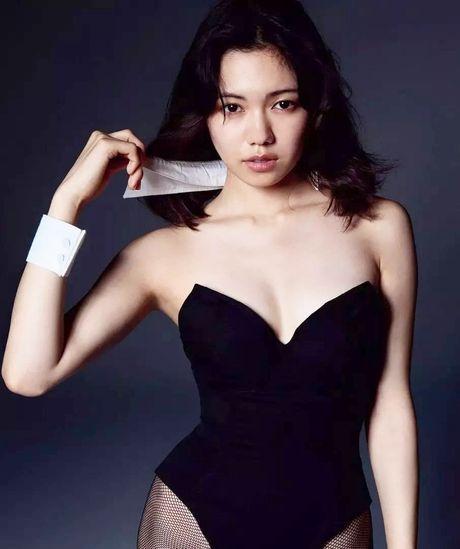 Nguoi dep Nhat Ban Fumi Nikaido hoa nang tho Playboy quyen ru - Anh 5