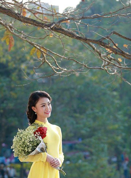 Nguoi dep truyen thong HHVN 2016 Ngoc Van: Hoc de co hanh phuc - Anh 1