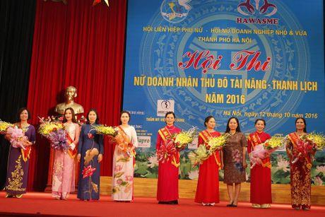 An tuong nu doanh nhan Thu do tai nang, thanh lich 2016 - Anh 1