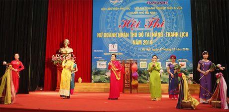 An tuong nu doanh nhan Thu do tai nang, thanh lich 2016 - Anh 3