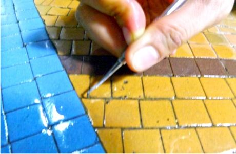 3 thang boc gach mosaic o Thuong xa Tax Sai Gon - Anh 3
