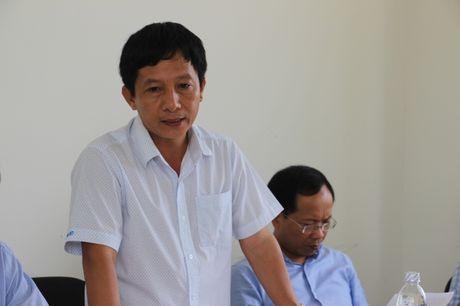 Thu truong Nguyen Ngoc Dong kiem tra hien truong du an cau Co Chien - Anh 2