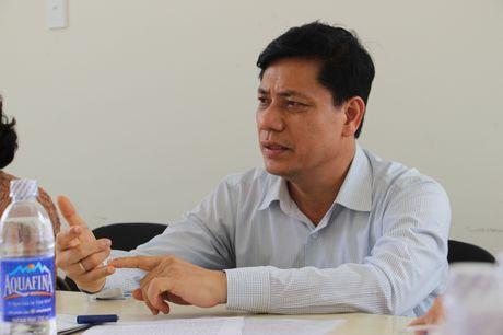 Thu truong Nguyen Ngoc Dong kiem tra hien truong du an cau Co Chien - Anh 3
