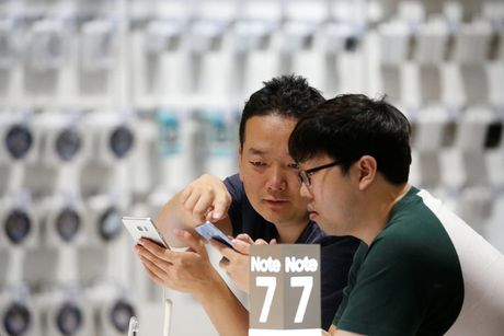 Khai tu Galaxy Note 7 - thu thach lon cua Samsung - Anh 1