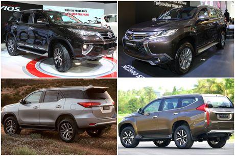 'So gang' Toyota Fortuner va Mitsubishi Pajero Sport the he moi - Anh 2