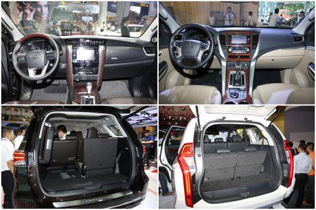 'So gang' Toyota Fortuner va Mitsubishi Pajero Sport the he moi - Anh 3