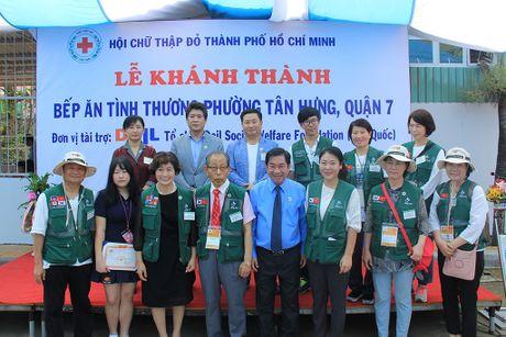 LOTTE Mart dong hanh cung DAIL khanh thanh bep an tu thien thu 2 tai TP.HCM - Anh 2