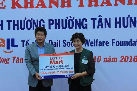 LOTTE Mart dong hanh cung DAIL khanh thanh bep an tu thien thu 2 tai TP.HCM - Anh 3