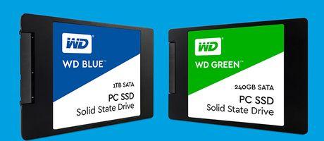 Western Digital lan dau tien ra mat o cung SSD - Anh 1