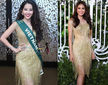 Nam Em dien lai vay cua Pham Huong du tiec o Miss Earth - Anh 2