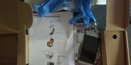 Samsung gui hop chong chay no cho nguoi dung tra lai Note 7 - Anh 2