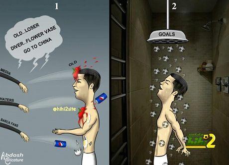 Biem hoa Argentina quy xuong xin Messi tro giup - Anh 2
