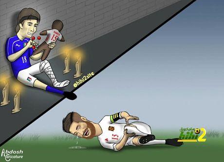 Biem hoa Argentina quy xuong xin Messi tro giup - Anh 3