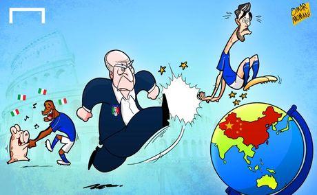 Biem hoa Argentina quy xuong xin Messi tro giup - Anh 9