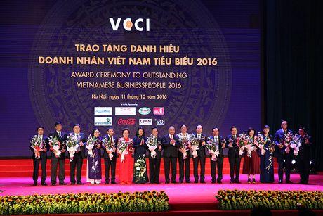 100 doanh nhan tieu bieu 2016 nhan cup Thanh Giong - Anh 16