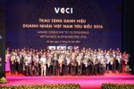 100 doanh nhan tieu bieu 2016 nhan cup Thanh Giong - Anh 26