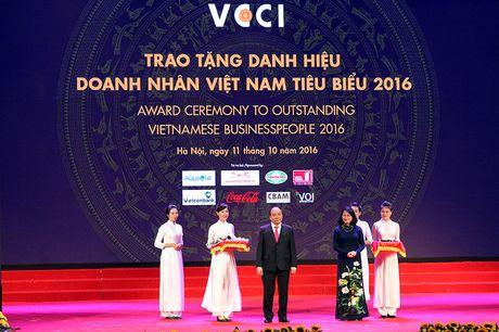 100 doanh nhan tieu bieu 2016 nhan cup Thanh Giong - Anh 2