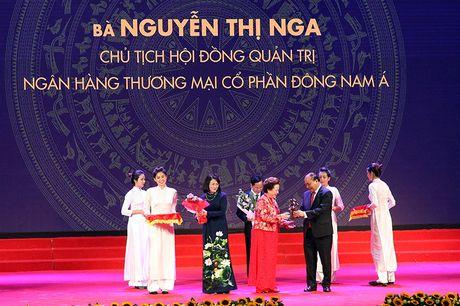 100 doanh nhan tieu bieu 2016 nhan cup Thanh Giong - Anh 4