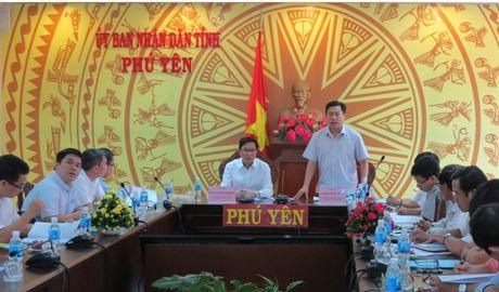 Bo Xay dung lam viec voi Phu Yen ve quy hoach Khu nong nghiep ung dung cong nghe cao - Anh 1