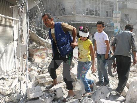 Nga len an vu na dan coi vao Dai su quan nuoc nay o Syria - Anh 1