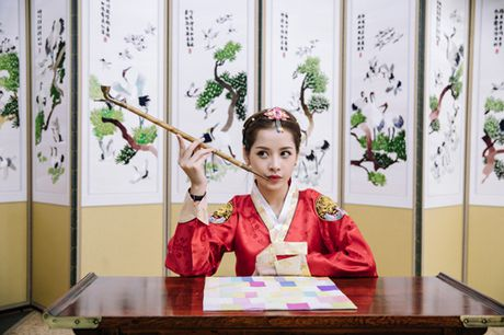 Chi Pu mac hanbok xinh khong thua a hau Han Quoc - Anh 10