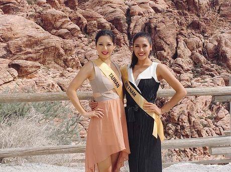 Nguyen Thi Loan rang ro xinh tuoi vuot troi ca Hoa hau Venezuela - Anh 3