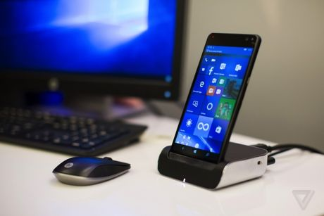 """HP Elite X3 smartphone co the """"bien hoa"""" thanh may tinh - Anh 2"""