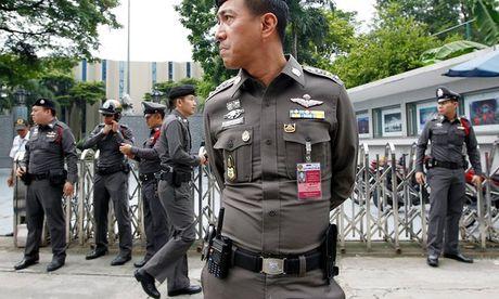 Thai Lan that chat an ninh sau khi co canh bao danh bom o Bangkok - Anh 1