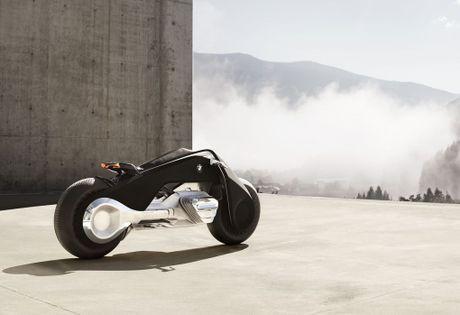 Motorrad Vision Next 100 - y tuong mo to tu can bang cua BMW - Anh 12