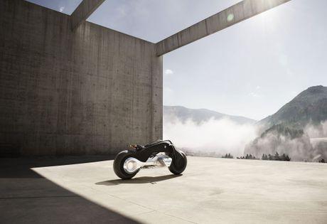 Motorrad Vision Next 100 - y tuong mo to tu can bang cua BMW - Anh 13