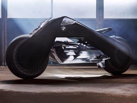 Motorrad Vision Next 100 - y tuong mo to tu can bang cua BMW - Anh 1