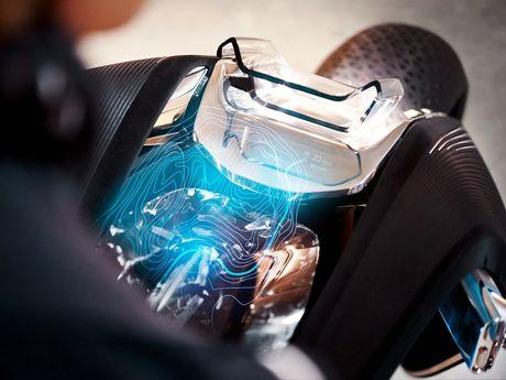 Motorrad Vision Next 100 - y tuong mo to tu can bang cua BMW - Anh 6