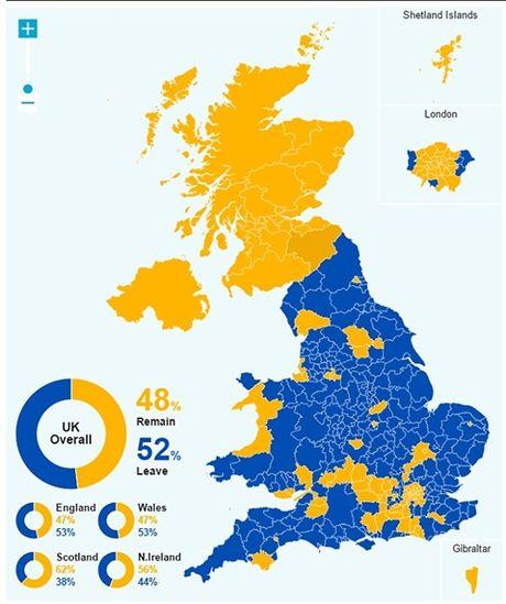 Hau qua Brexit: Scotland muon tach ra khoi nuoc Anh - Anh 2