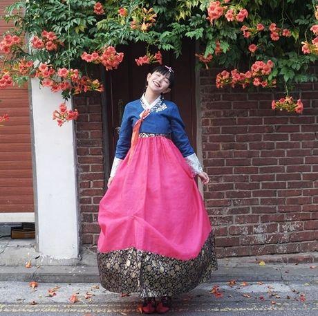 5 hot girl Viet dien hanbok xinh khong kem thieu nu Han - Anh 10