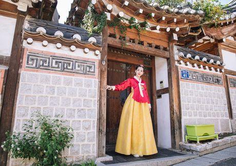 5 hot girl Viet dien hanbok xinh khong kem thieu nu Han - Anh 1