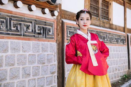 5 hot girl Viet dien hanbok xinh khong kem thieu nu Han - Anh 2