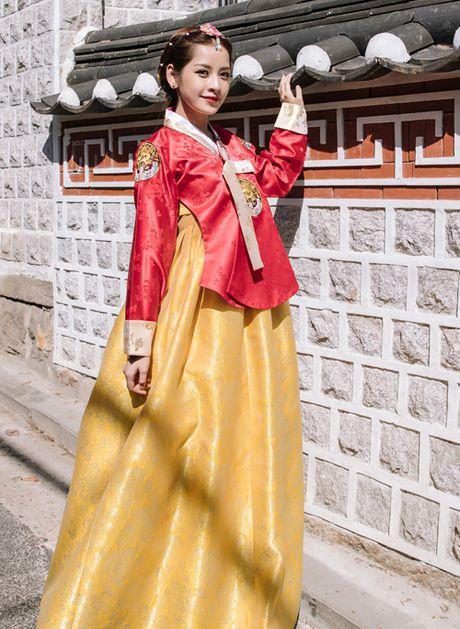 5 hot girl Viet dien hanbok xinh khong kem thieu nu Han - Anh 3