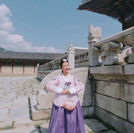5 hot girl Viet dien hanbok xinh khong kem thieu nu Han - Anh 5