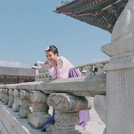 5 hot girl Viet dien hanbok xinh khong kem thieu nu Han - Anh 6