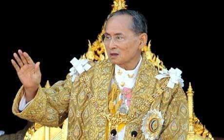 Thai Lan: Quoc hoi hop khan vi nha vua bang ha - Anh 1