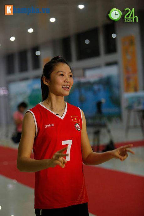 Ngam cac ung vien Hoa khoi bong chuyen VTV Cup 2016 - Anh 14