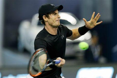 "Murray - Pouille: ""Bat nat"" dan em (V3 Shanghai Masters) - Anh 1"