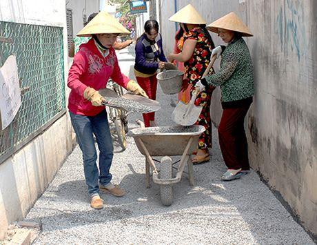 Can Tho: Nhieu cong trinh chao mung DHDB Phu nu TP - Anh 2
